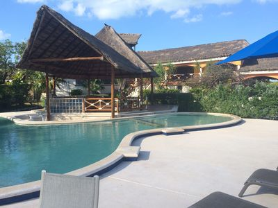 Pool and Palapa Area, House at the back