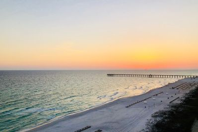 Amazing sunsets right from your very own very private balcony