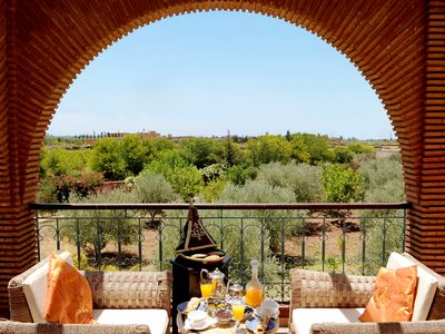 Photo for Villa Dar Moudar, exclusive villa with large garden in Marrakech