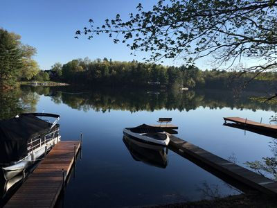 Photo for Serene & cozy lakefront getaway on Congamond's pristine North Pond