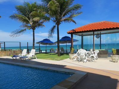 Photo for Seafront house with 7 suites 1.36 Km from the center of Porto de Galinhas