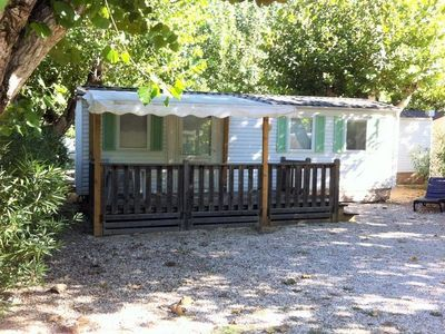 Photo for Camping Fouguières *** - Mobile Home Classic Eco Titania 3 Rooms 4 Persons