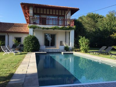 Photo for SPACIOUS FAMILY HOME WITH GARDEN AND SWIMMING POOL 10 MINUTES FROM BIARRITZ.