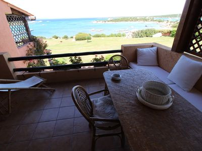 Photo for SEA FRONT APARTMENT, BEACH, SWIMMING POOL, WIFI, PARKING SPACE