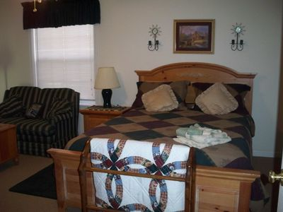 4 large bedrooms with comfortable and beautiful furnishings!