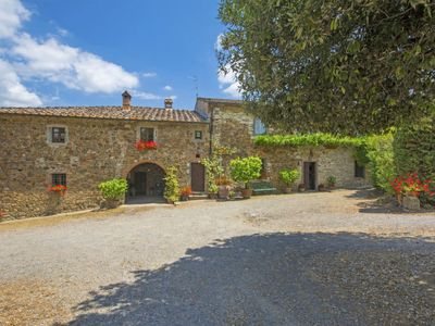 Photo for Vacation home Le Bonatte in Radda in Chianti - 12 persons, 5 bedrooms
