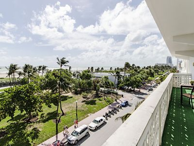 Photo for Corner Ocean View with Balcony