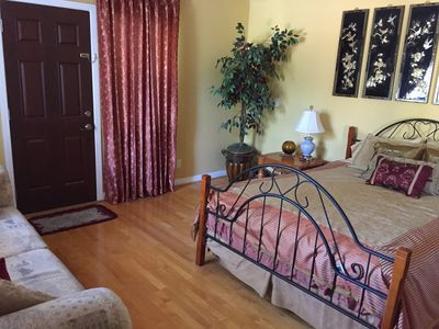 Photo for Private Large 1 Bedroom With Attached Bath & High Speed Internet In Cupertino C