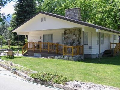 Photo for Charming Country Home in Park-Like Setting Near Icicle River