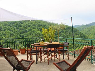 Photo for Holiday house in Lunigiana Tuscany, near 5 Terre, WiFi Panoramic Terrace