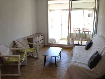 Photo for Studio-cabin and Loggia Palavas - WiFi - parking - near Beach - 5p