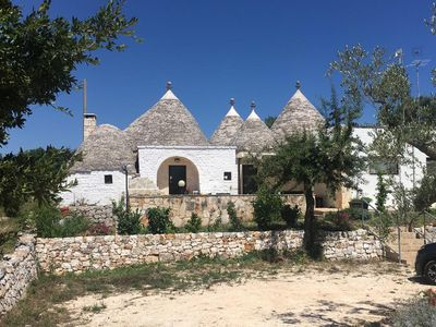 Photo for Stunning Trullo With Private Pool, Panoramic Views & Private Olive Grove - 6/8