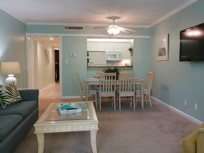 Photo for Newly-Renovated! Tranquil Lodge Unit - Overlooks the Pool!