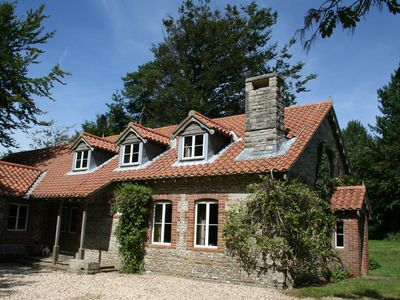 Photo for Stunning setting in rural Dorset near the Jurassic coast for 12 people and pets.
