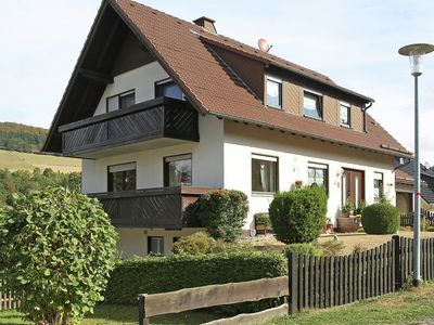 Photo for Very nicely situated apartment with terrace and view of the Diemelsee