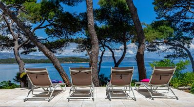 Photo for Seafront Villa Ana, on the Island of Hvar