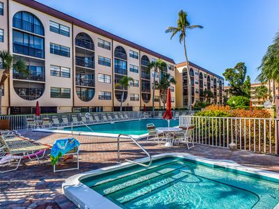 Photo for Breezy condo at waterfront property w/ pools, hot tubs, tennis, dock, & Tiki bar