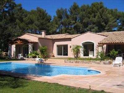 Photo for Superb Family Villa  with Heated Private Pool & Garden near to beach