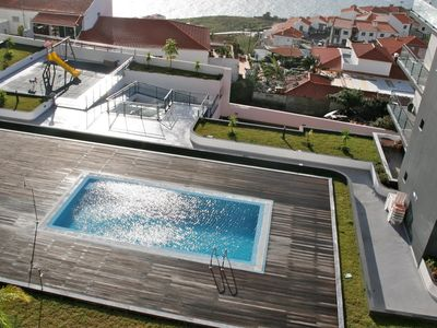 Photo for Luxury, modern and spacious Home4You with pool/seaview, WiFi in Garajau/Caniço