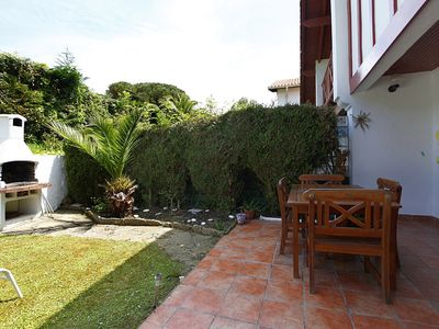 Photo for House-villa with garden in Hendaye near the beach in development with pool