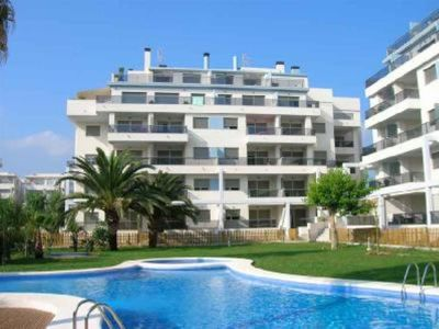 Photo for Apartment Denia, modern , very quiet, WIFI,150m beach, 500m town