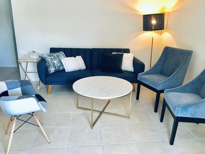 Photo for Great location in Coconut Grove + free parking! Modern & Spacious