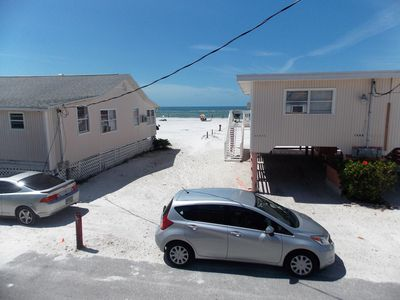 Photo for Beach and gulf view, large deck, steps to the beach, ocean view from  2 rooms