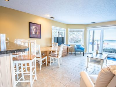 Photo for 1BR Beachfront Condo in Traverse City on Lake Michigan's Gorgeous East Bay