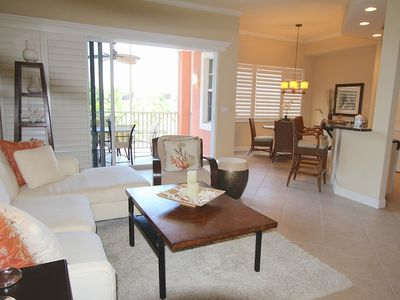 Photo for Spectacular condo -beautifully furnished - minutes to the beach!