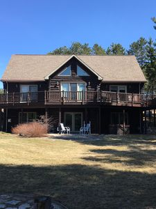 Escape from the hustle and bustle to this fabulous log home.