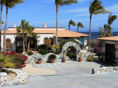Photo for New Listing!!   Beautiful Oceanfront Villa- 1 mile N of Los Barriles- Sleeps 6+