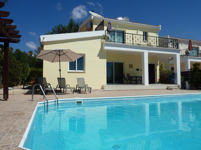 Photo for Luxury Villa With Large Private Pool. Perfectly situated for exploring Cyprus