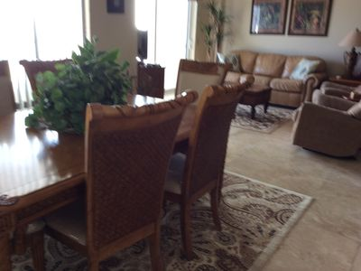Photo for Oceanfront forty foot balcony with wonderful views and Beautiful furniture