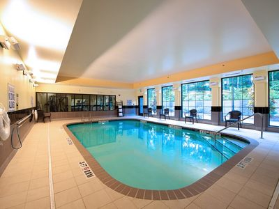 Photo for King Studio. Free Breakfast. Pool. Gym. Business Center.