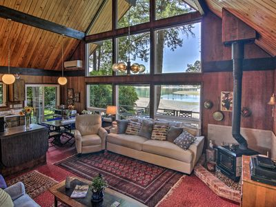 Photo for Waterfront Gig Harbor Cabin w/Puget Sound Views!