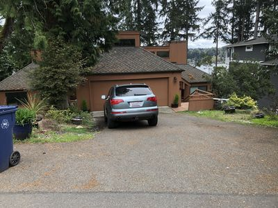 Photo for Private one bedroom property with a private balcony and view of Lake Washington