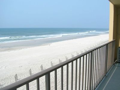 Photo for Beachfront - 2 bedrooms for price of one!