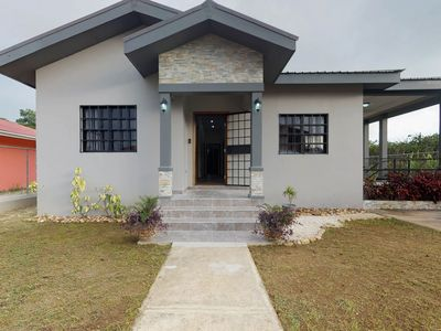 Photo for Newly constructed modern house w/full kitchen, entertainment, and AC!