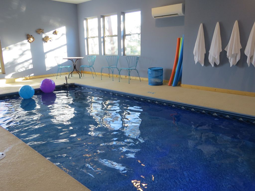 Private Indoor Swimming Pools brand new luxury cabin - private indoor poo - vrbo