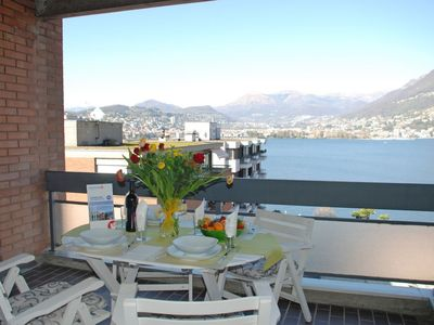 Photo for Apartment in Paradiso with Lift, Parking, Internet, Balcony (457142)
