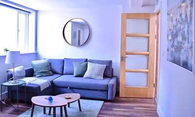 Photo for Modern Flat in Dublin Centre - One Bedroom Apartment, Sleeps 4