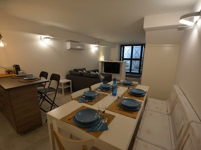 Photo for House in the Rock - Amazing new apartment in the center of the town