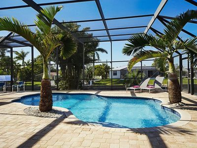 Photo for Wischis Florida Vacation Home - Blue Lagoon in Cape Coral