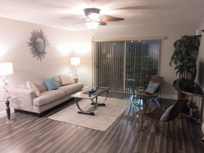 Photo for Beautiful Condominium, fully furnished and only 7 miles from WEF. Gated Complex!