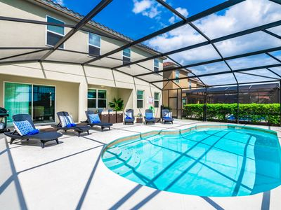 Photo for Spacious 6br South Facing Resort Pool Home. 4365