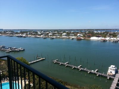 Photo for New Rates!Penthouse Great access to Shipwatch Beach and River ,bring your Boat