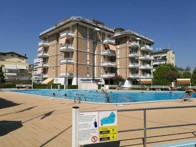 Photo for Jesolo Piazza Milano, ideal for families, beach services included