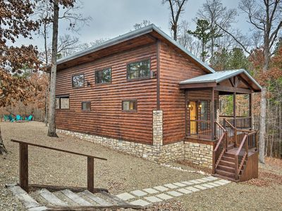 Photo for NEW-Broken Bow Honeymoon Studio w/Hot Tub By Lake