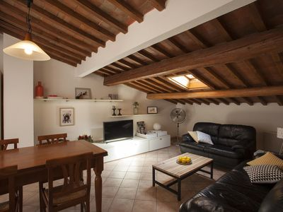 Photo for Casa Cosi Masaccio :  attic apartment with terrace for 8