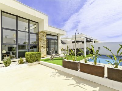 Photo for Stunning semi-detached house with private pool